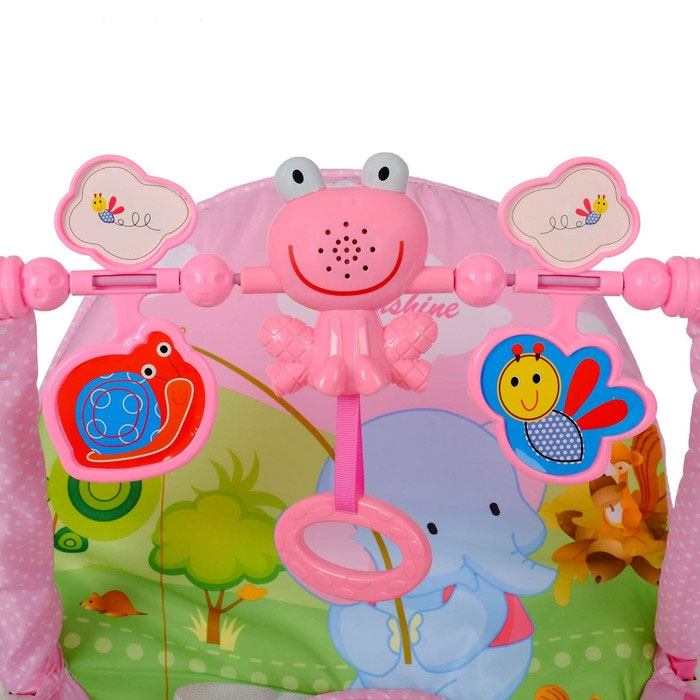 Bouncer Rocking Chair For Children Elephant On Fishing