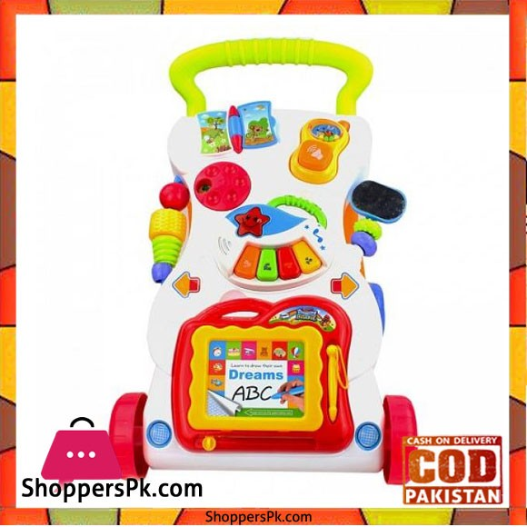 Huanger Children Musical Activity Walker 666-16