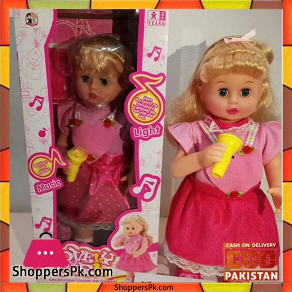 Electric Music Baby Girl Doll Swinging Learning Cute Toys Educational Singing Dolls Birthday Gift Toys For Children