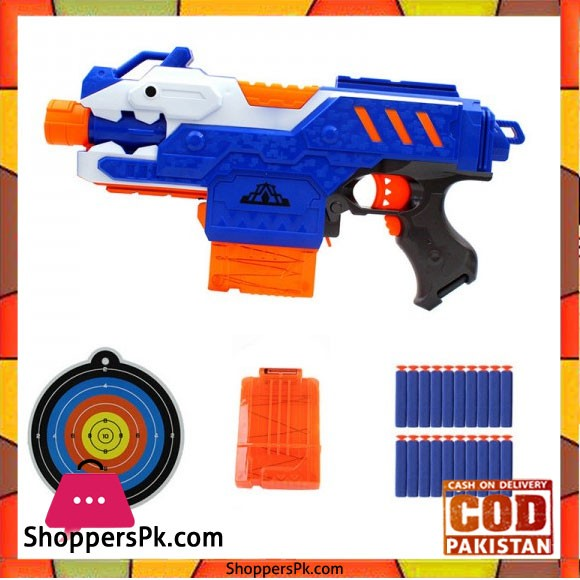 Electrical Soft Bullet Toy Gun Pistol Sniper Rifle Plastic Gun Toy for Children Shooting Gaming Pistol Gun