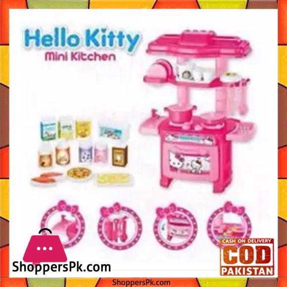Hk Kitchen Set Pretend Play For Children