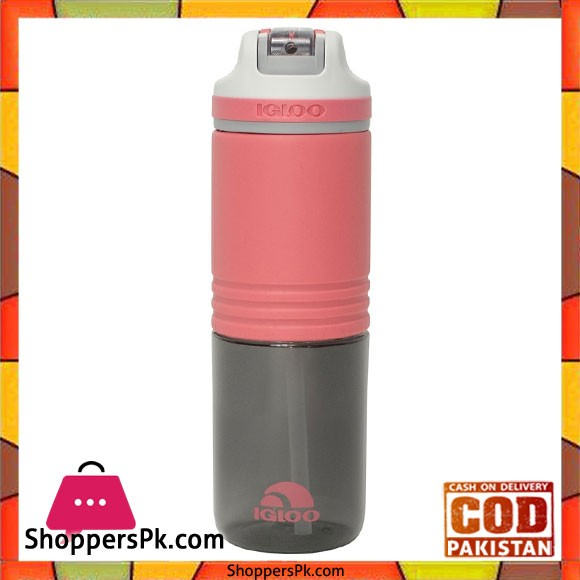 IGloo 24 Oz Gripper Water Bottle With Straw #70122