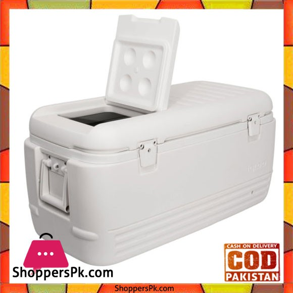 IGloo Chest Cooler 100 Qt (94.63Ltr) White Made in USA #11442