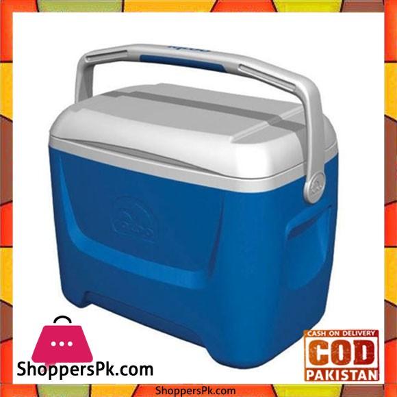 IGloo Cooler Island Breeze 28 Blue 26 Liters #44559 USA Made