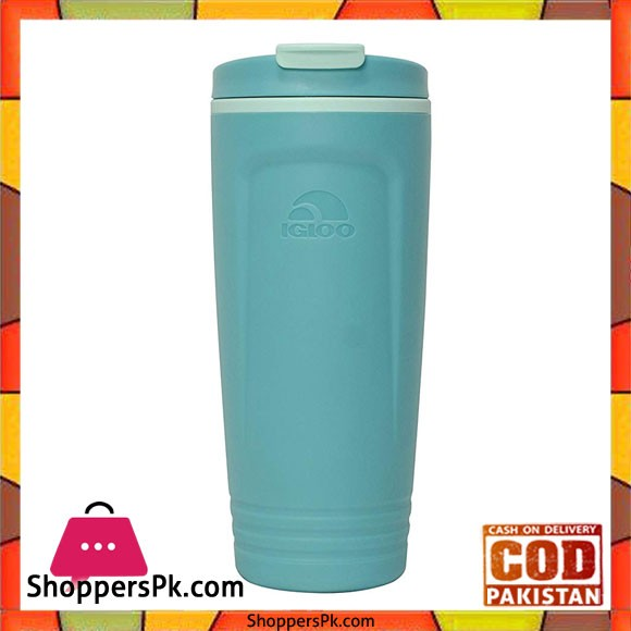IGloo Havasu Foam Insulated Tumbler Aqua Beach Glass 22 #70052