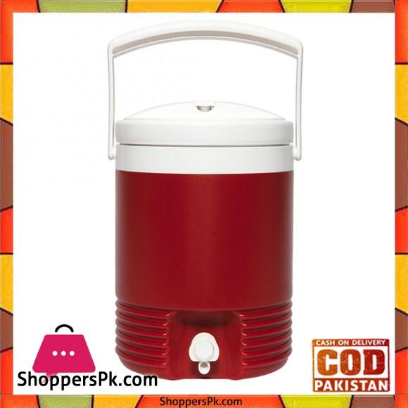 IGloo Legend 2 Gallon Drinks Cooler Insulated Beverage Jug Red #02214