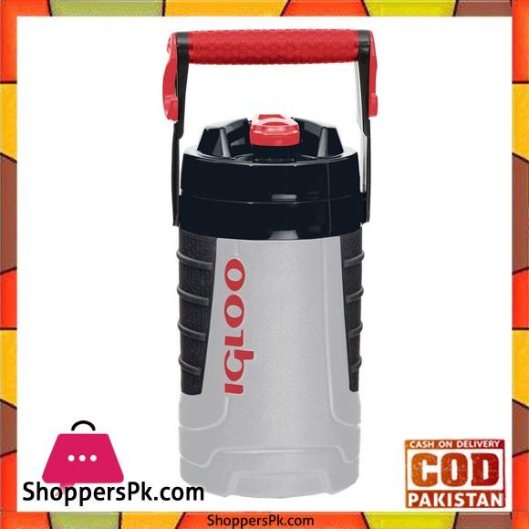 IGloo Proformance Half Gallon Water Jug 1 QT Gray / Red #31087