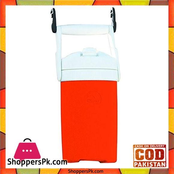 IGloo Sport Cooler With Hooks Orange 1 2 Gal #41669