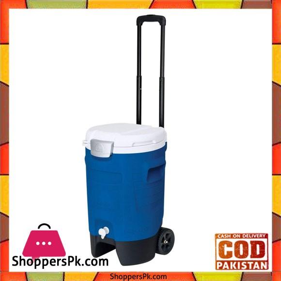 IGloo Sport Roller Beverage Cooler 5 Gallon Majestic Blue #42115