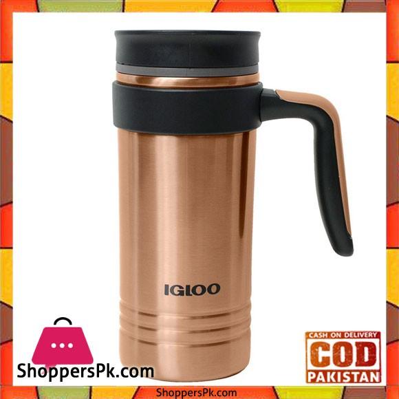 IGloo Stainless Steel 16 Oz Insulated Travel Mug With Handle #70172