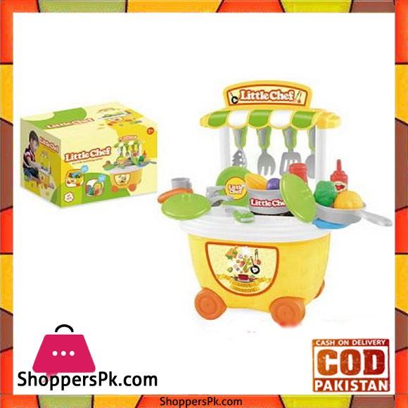 Kids Pretend Play Little Chef Kitchen Toys Set 29 Pcs