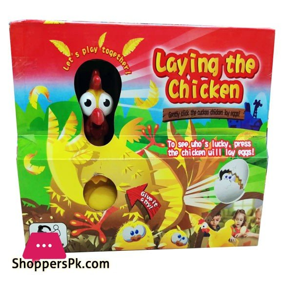 Laying The Chicken Egg-Splosive Chicken Game