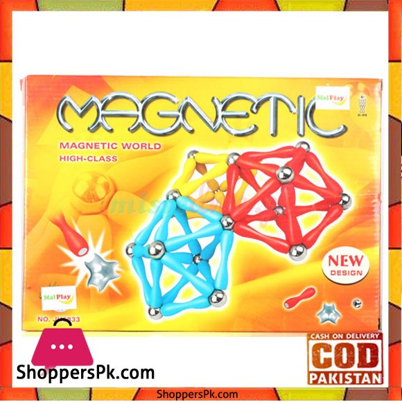 Magnetic Puzzle Magnetic 120 Elements