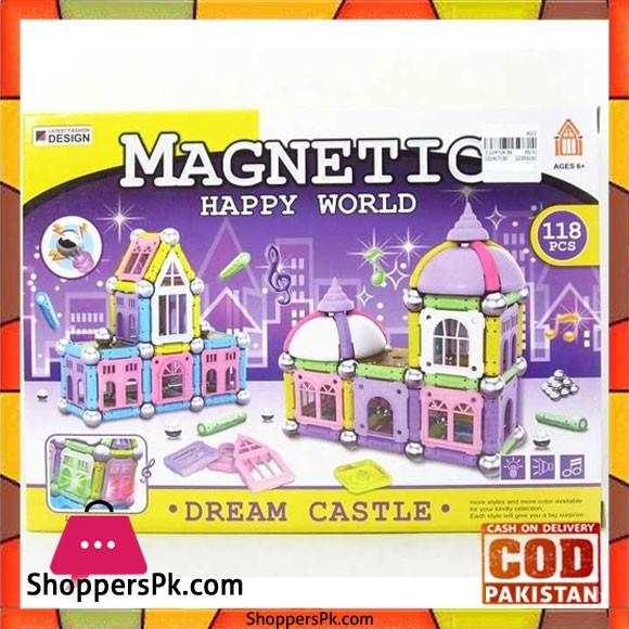 Magnetic World Puzzle Dream Castle 118 Pcs