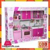 My Happy Kitchen Dishwasher Oven Sink Battery Operated Toy Doll Kitchen Playset Lights Sounds Tall Dolls
