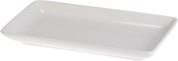 Nova 3 Piece Rectangular Plate with Stand #Hj18606