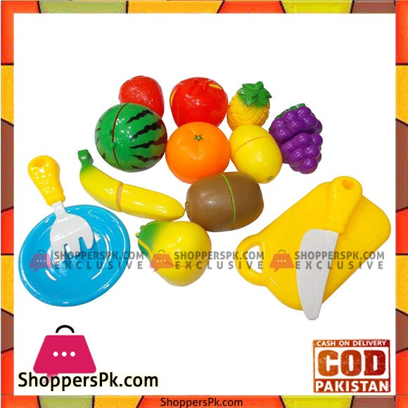Plastic Kitchen Pretend Play Funny Food Fruit Vegetable Cutting Toys For Children Kids Educational Toys