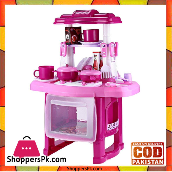 b51b91841f3 Buy Robolife Kids Kitchen Cookware Pretend Play Toy Set with Music ...