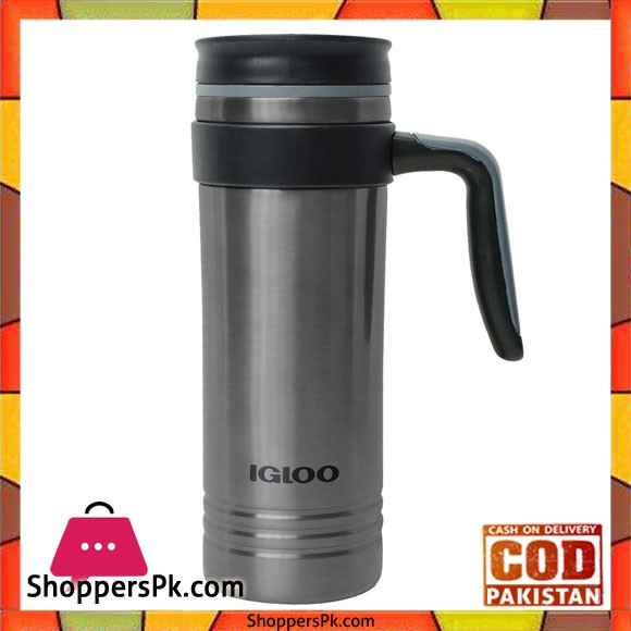 Stainless Steel 20 Oz Insulated Travel Mug With Handle #70182