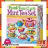 Tea Set Painting Kit Educational Toy