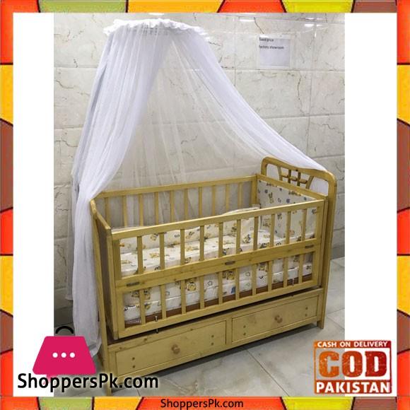 Wooden Baby Cot 5035
