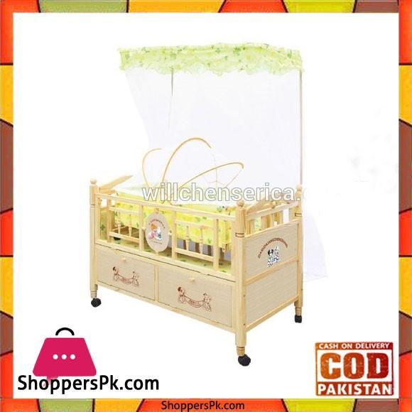 Wooden Baby Cot 539-1