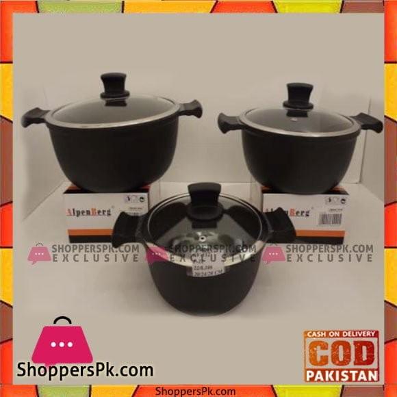Alpenberg 20-24-28 CM Pot Set - GV112
