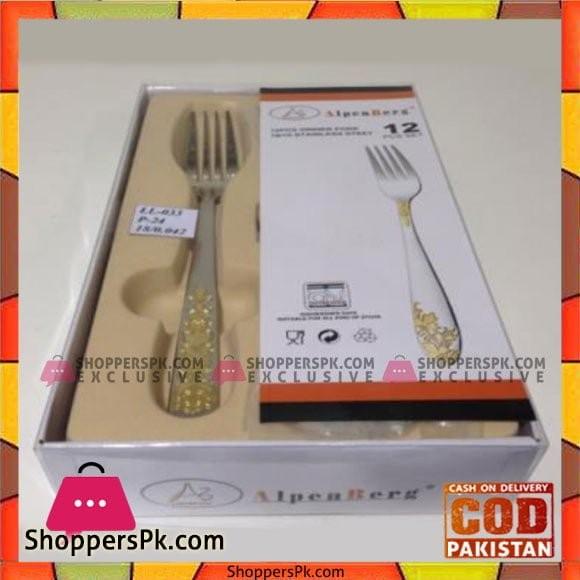 Alpenburg 12Pcs Table Fork - LL033