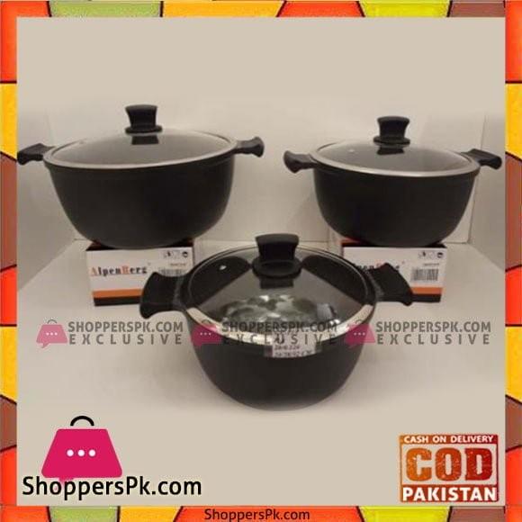 Alpenburg 24-28-32 CM Pot Set - GV113