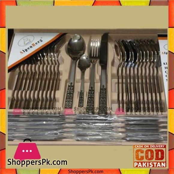 Alpenburg 48Pcs Cutlery - SS034