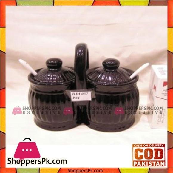 Angela 2Pcs Jam Pot - HDL037