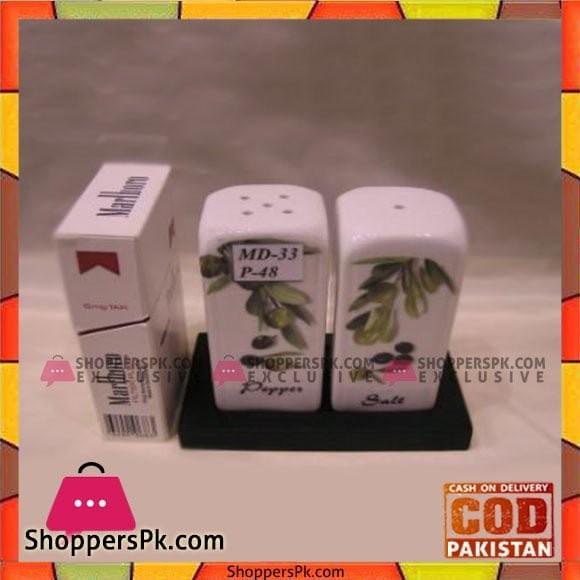 Angela 2Pcs Olive Salt & Pepper - MD033
