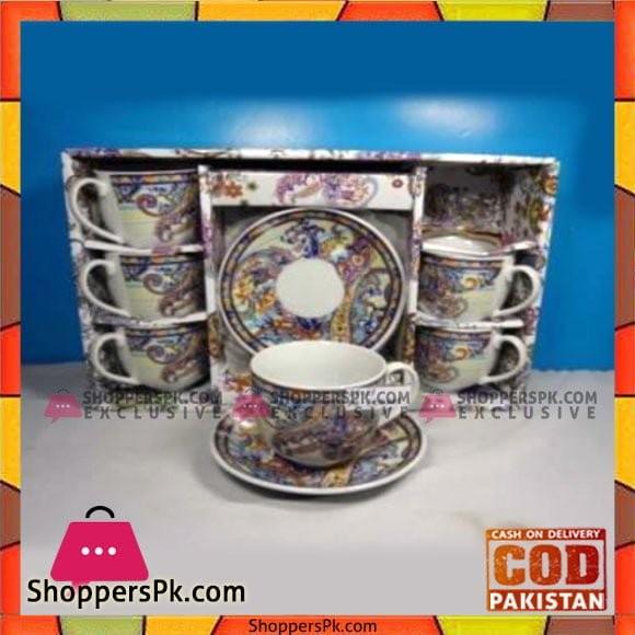 Angela 6Pcs Cup Saucer - LV11