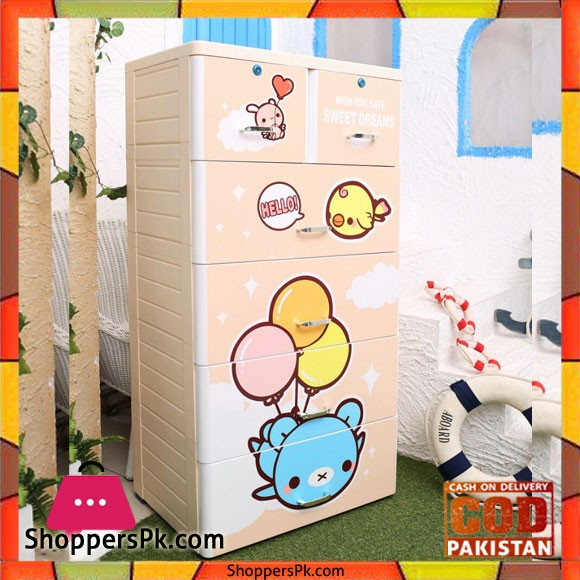 Baby Clothes Storage Drawer Jumbo Baby Bear Y-1