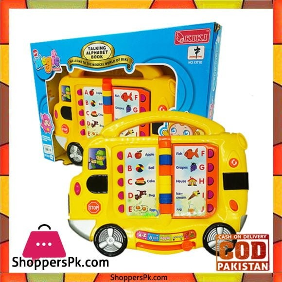 Baby Learning Toy - Talking Alphabet Book Musical Toy