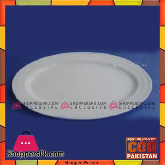 Brilliant 11.75inch Oval Platter - BR0170