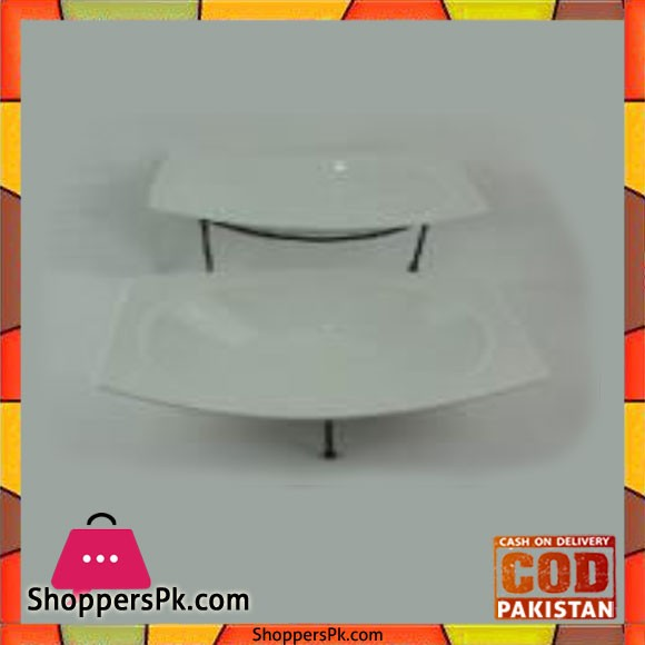 Brilliant 2Tier Oval Big Platter - BR0157