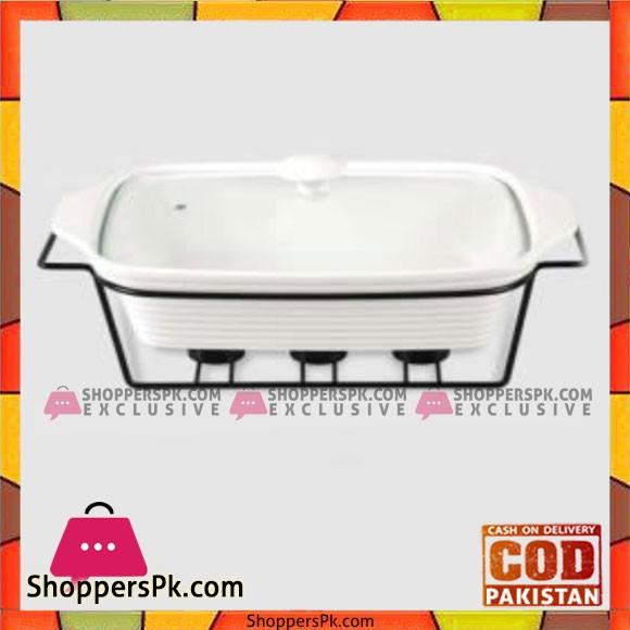 Brilliant Rectangle Burner Dish Medium - CX9771