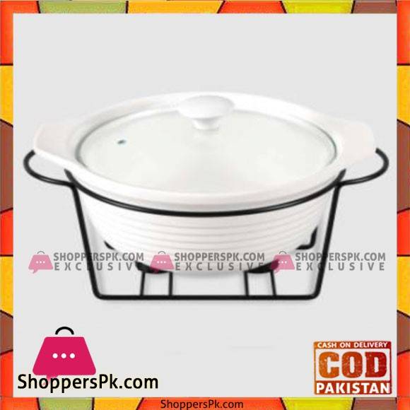 Brilliant Round Burner Dish Medium - CX9766