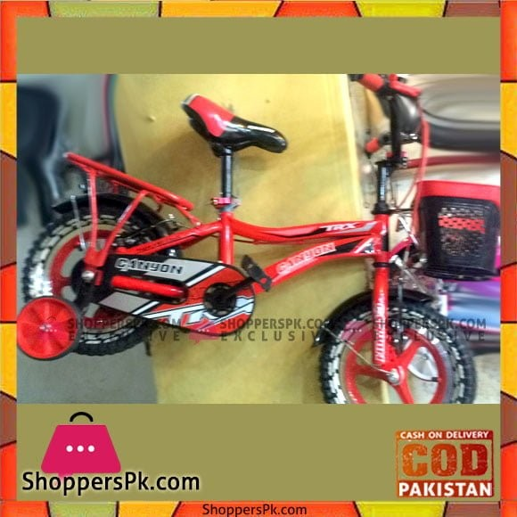 Canyon Super Red Bycycle / Bicycle For Kids - 12inch