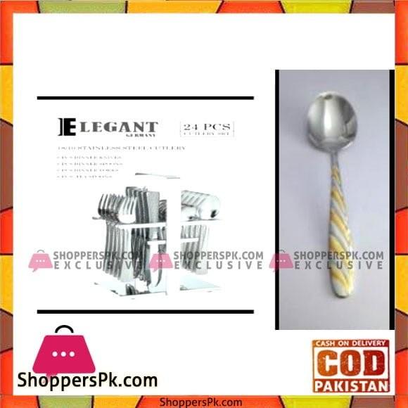 Elegant Cutlery 24Pcs(Doted) - AA0005G