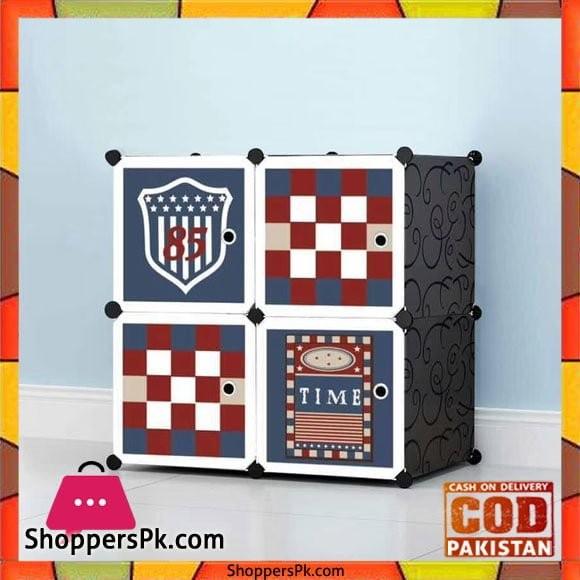 Football Club DIY 4 Cube Cabinet