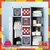 Football Club DIY Cube Cabinet 8 Door 1 Hanging Corner Cabinet