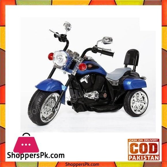 Harley-Davidson Style Kids 3 Wheel Chopper 6V Electric Motor Trike Ages 18 Months-4 Years ZH-618