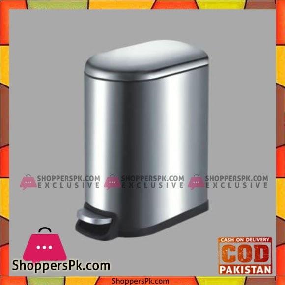 Home Fresh 10Ltr SS Slim Bin - HF0016