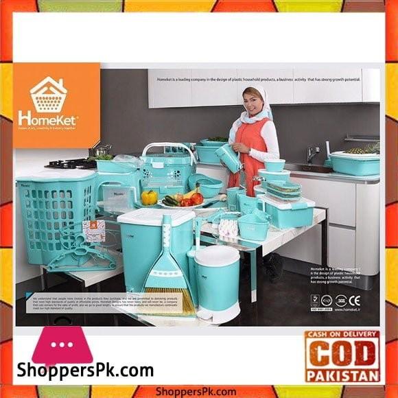 HomeKet Bridal Dowry Plastic HouseHold Set