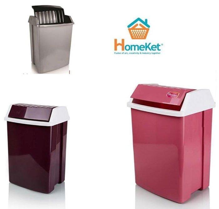 Homeket Plastic Dustbin 20 Liter