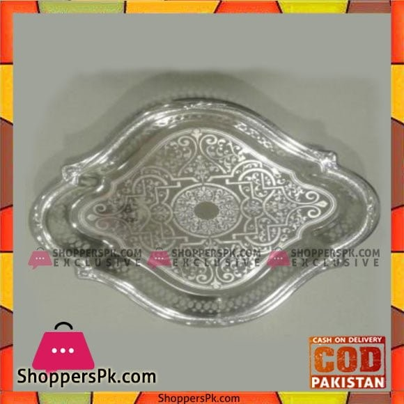 Kingsville Silver Tray - 780(P860)S(SL) Sq