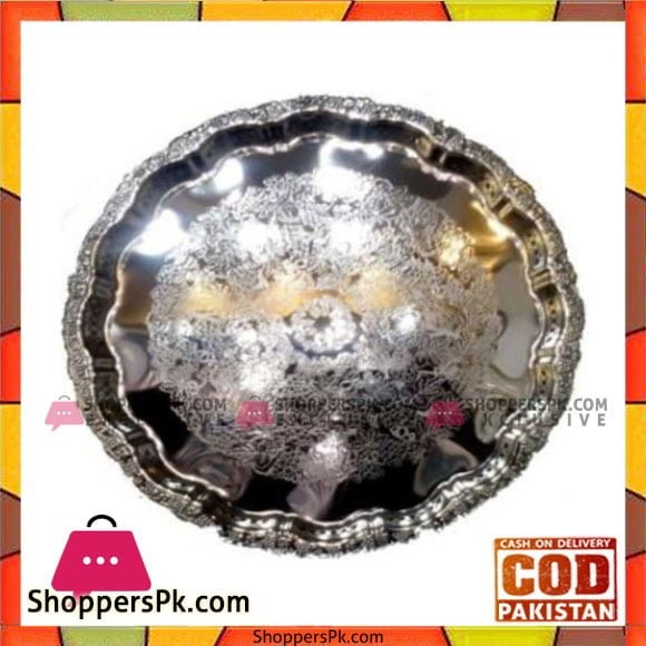 Kingsville Silver Tray Round - 779M