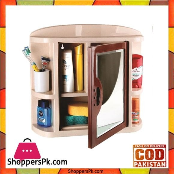 Buy Mirror Bathroom Cabinet Plastic At Best Price In Pakistan